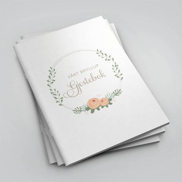 Bilde av Gjestebok - Vårt Bryllup
