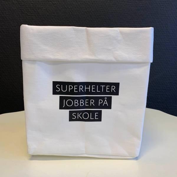 Bilde av Pose - Superhelter jobber på skole