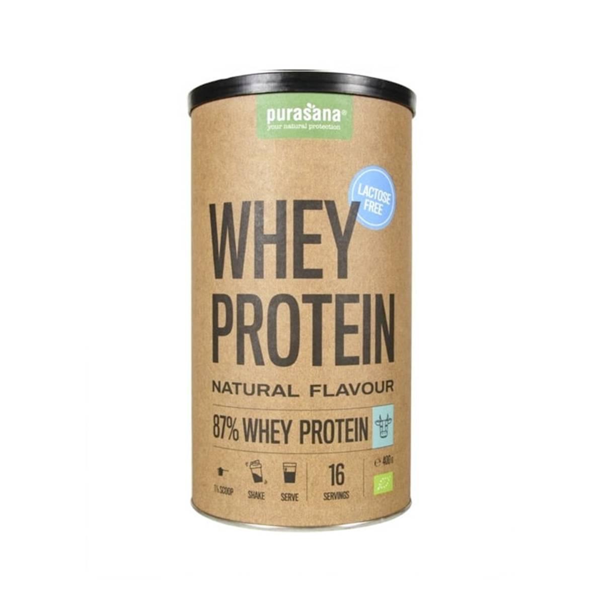 Whey Protein naturell laktosefri