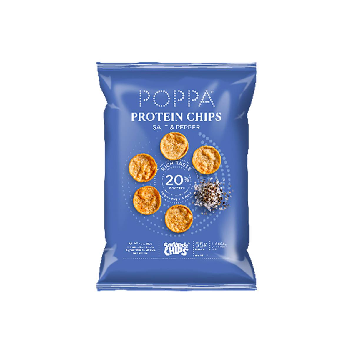 Poppa Protein Salt & Pepper