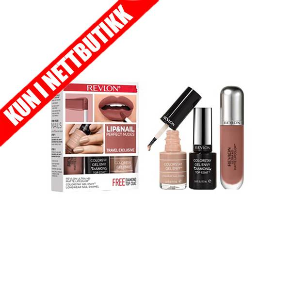 Bilde av Perfect Nudes - Lip & Nail Set