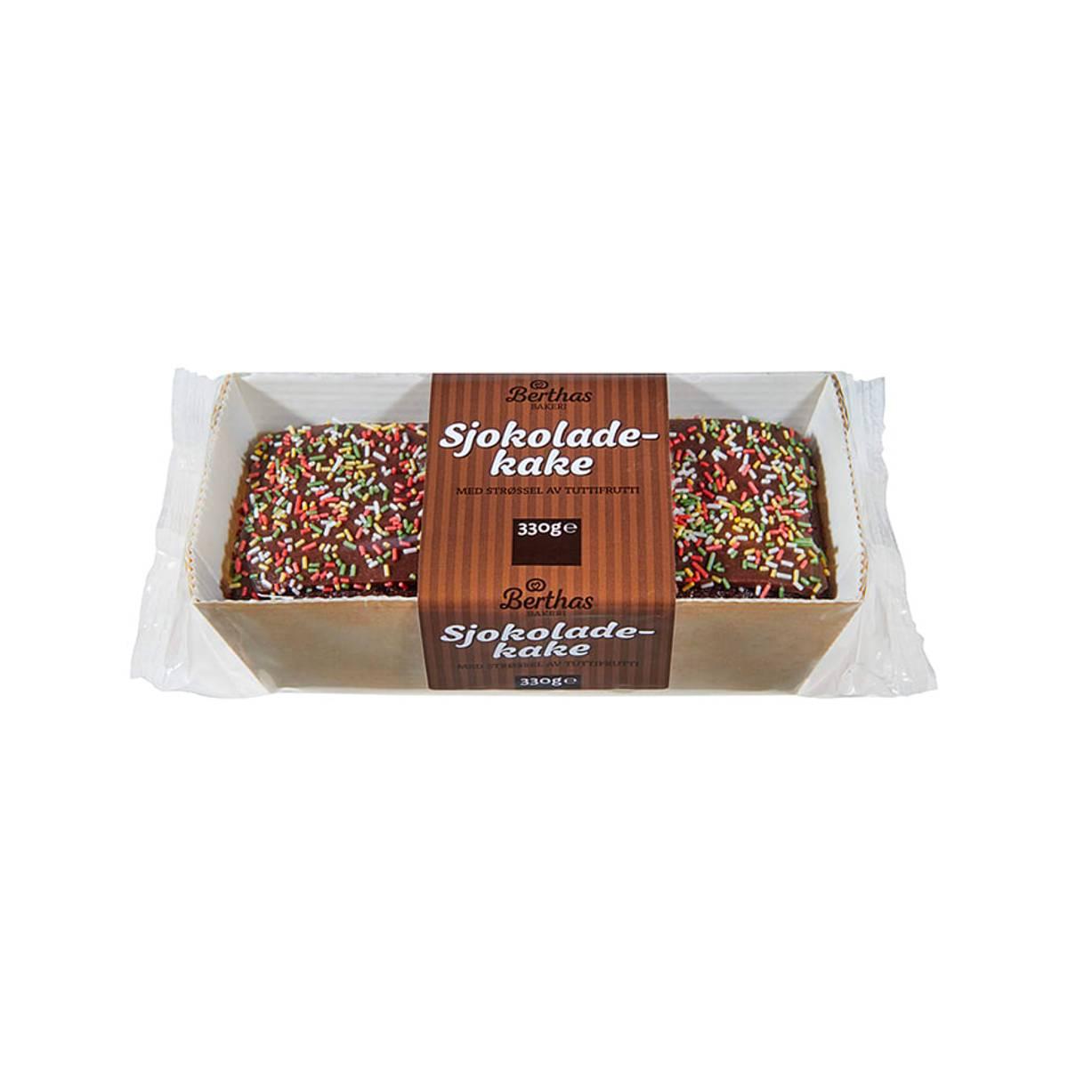 Sjokoladekake m/strøssel