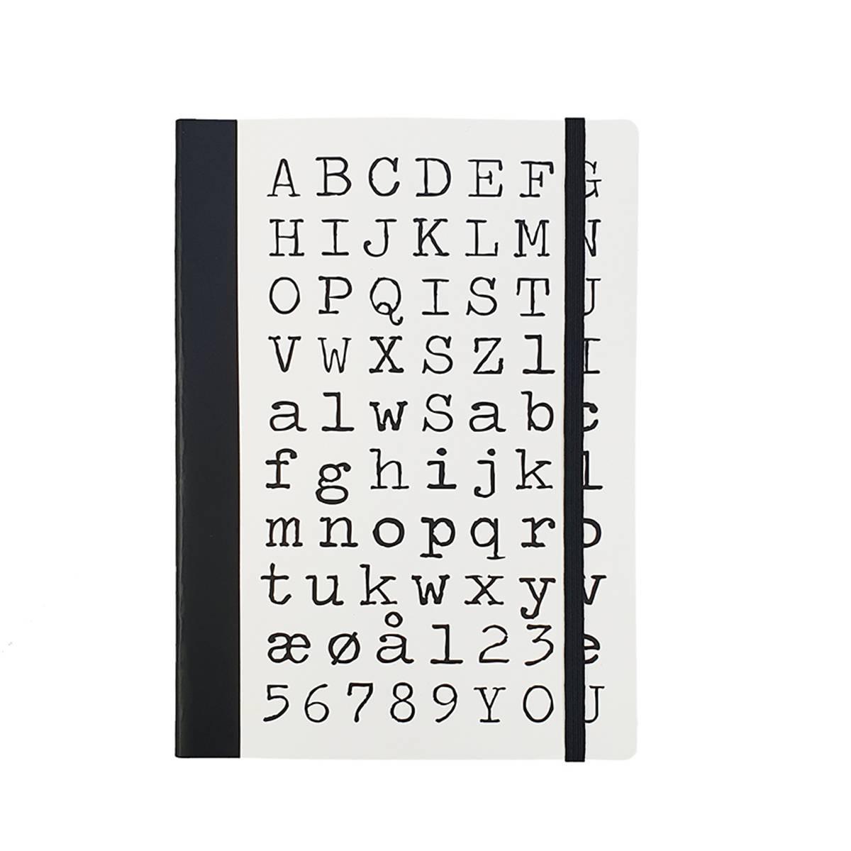 Notatblokk - ABC..