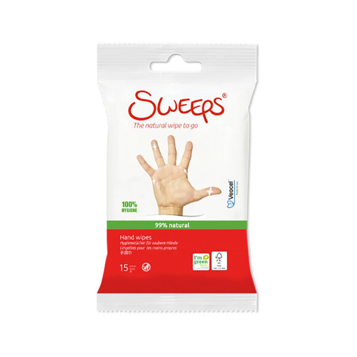 Håndrens servietter XL