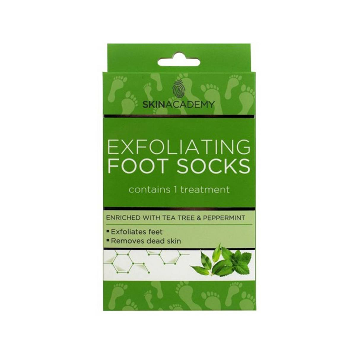 Exfoliating Foot Socks Tea Tree & Peppermint