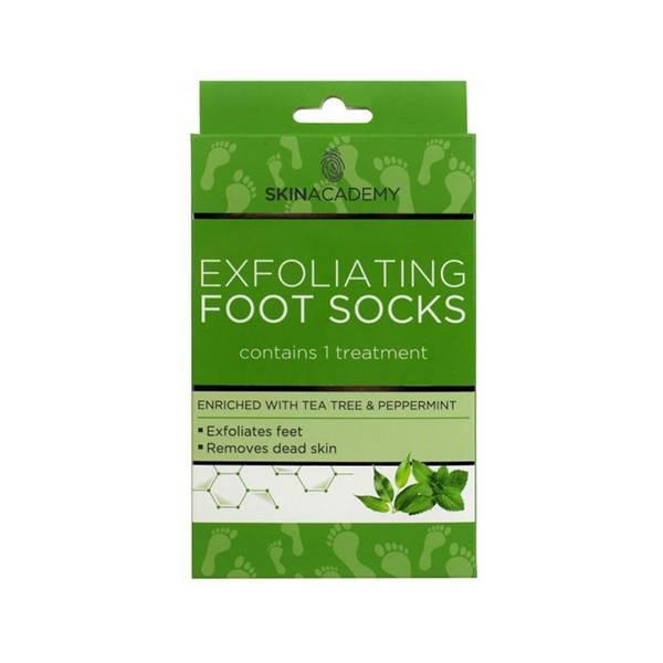 Bilde av Exfoliating Foot Socks Tea Tree & Peppermint
