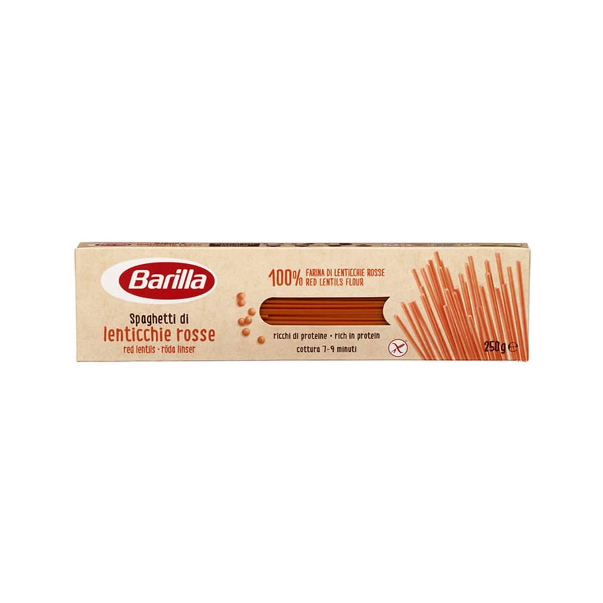 Spaghetti Røde Linser
