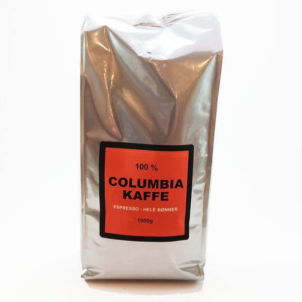 Bilde av Columbia Espresso - Hele bønner 1kg