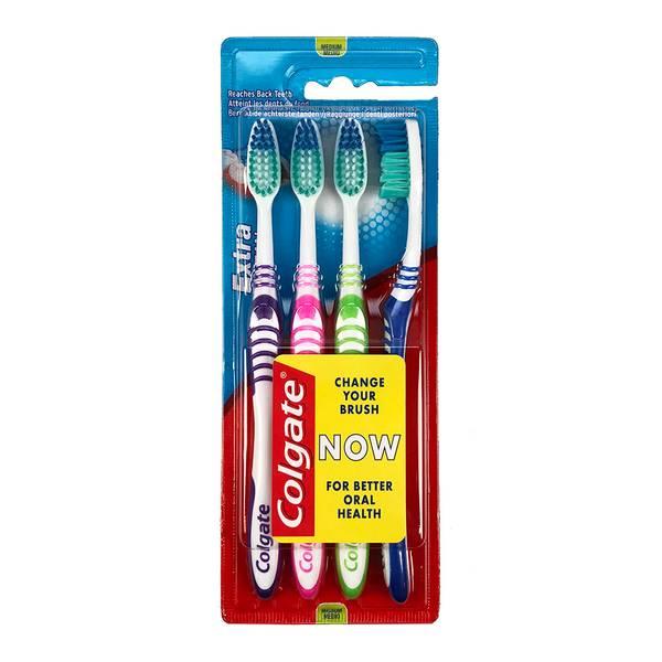 Bilde av Tannbørste 4pk  - Extra Clean