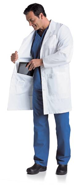 Bilde av iPad legefrakk herre - Men's