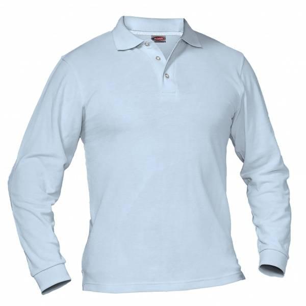 Bilde av Langermet polo piquet skjorte