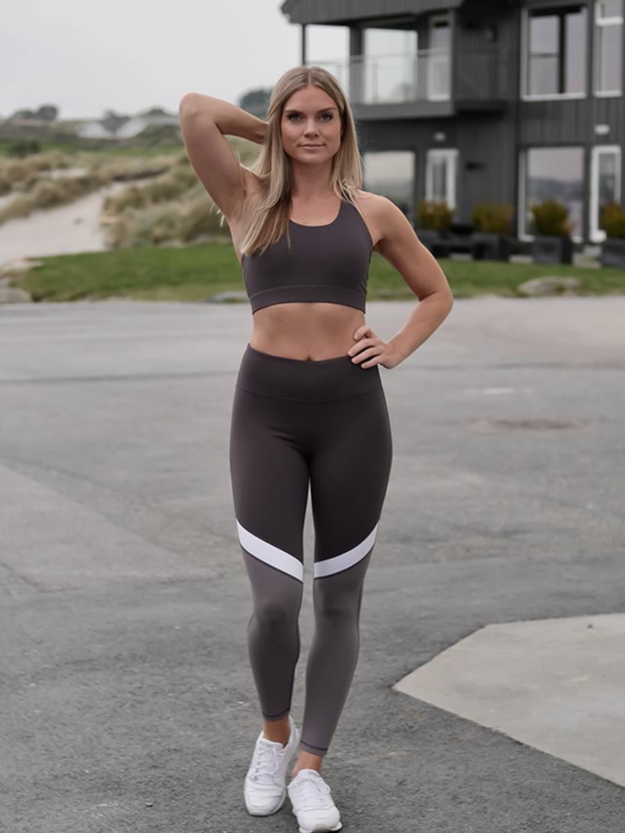 Energy sports bra grey