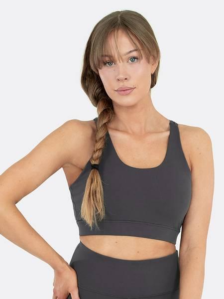 Image of Energy sports bra grey