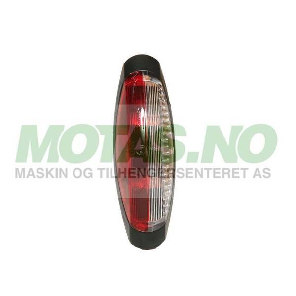 Bilde av Flexipoint II rød/hvit u/ledning & lyspære