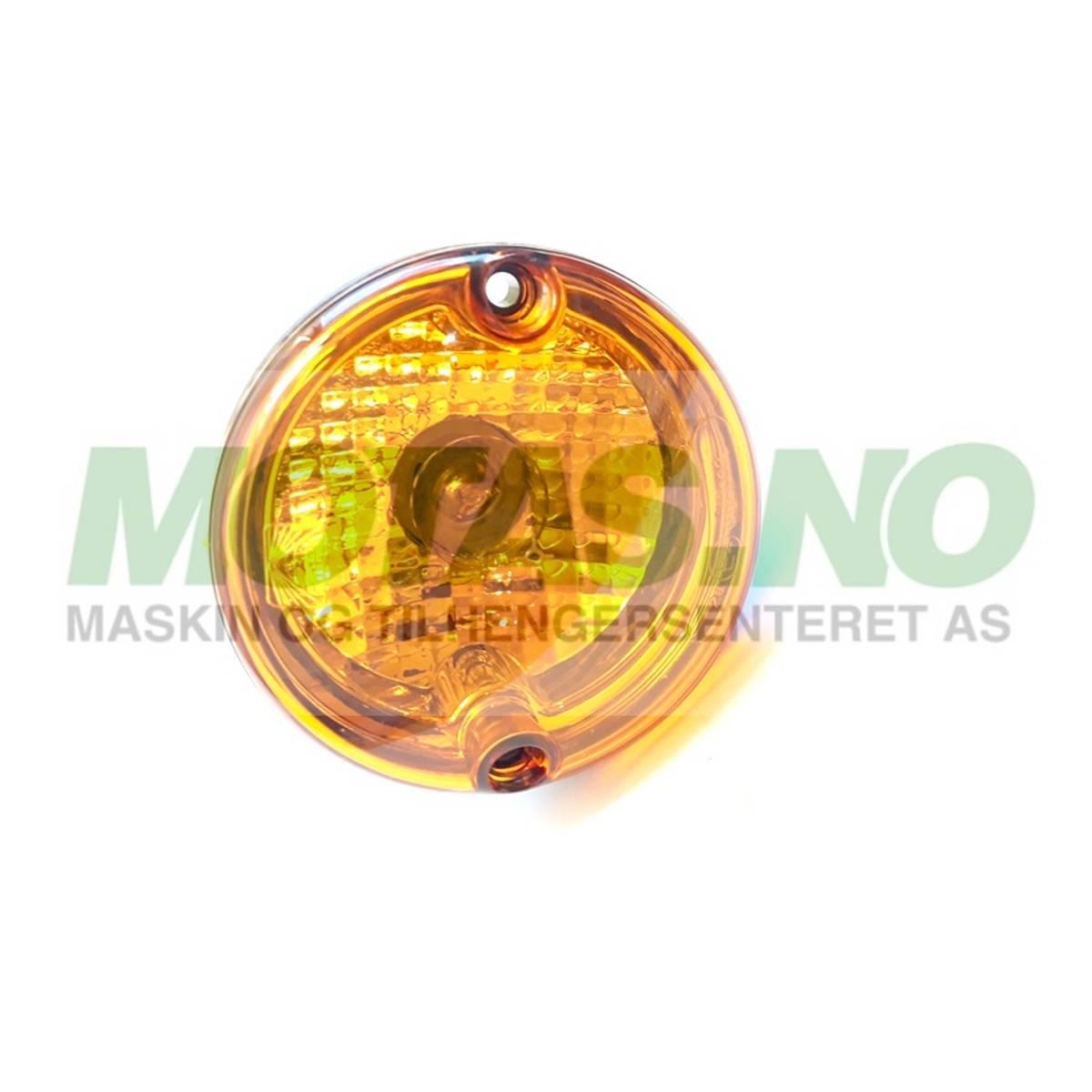 Roundpoint 12V blinklys 2-pol