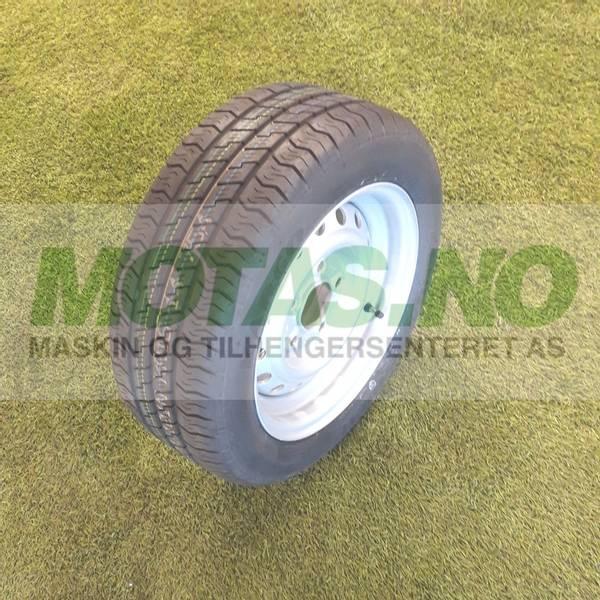 Bilde av Komplett hjul 195/50R13C M+S stålfelg