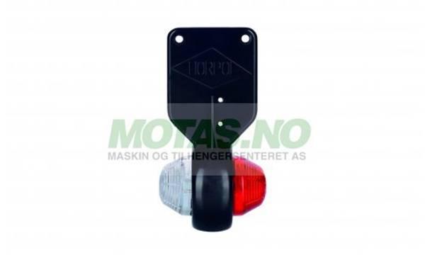 Bilde av Markeringslys LED rød/hvit LD368