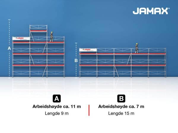 Bilde av Jamax Landbrukspakke 82,5/73,5 m2