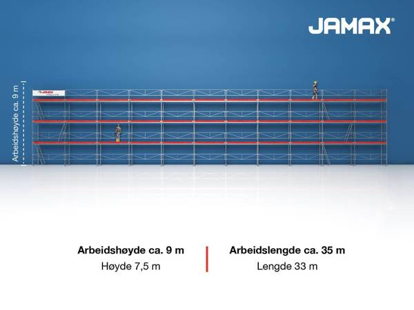 Bilde av Jamax Fasadestillas 247,5 m2