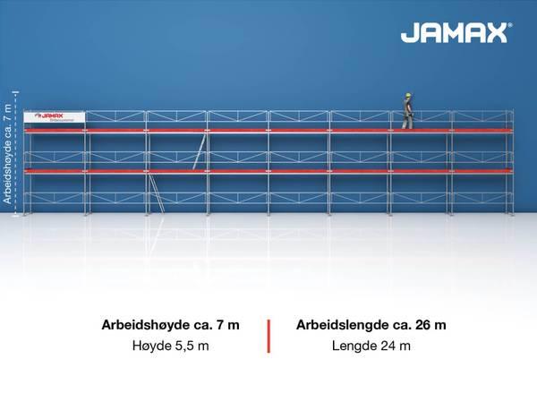 Bilde av Jamax Fasadestillas 132 m2