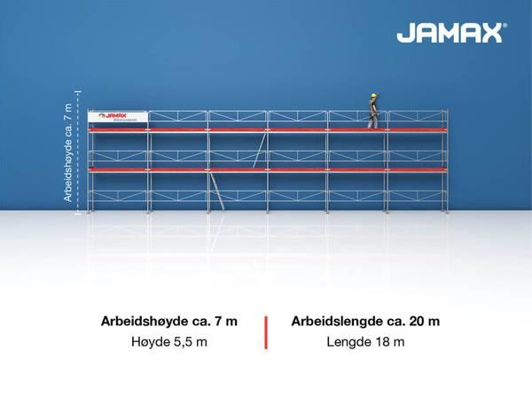 Bilde av  Jamax Fasadestillas 99 m2