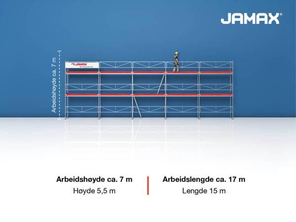 Bilde av Jamax Fasadestillas 82,5 m2