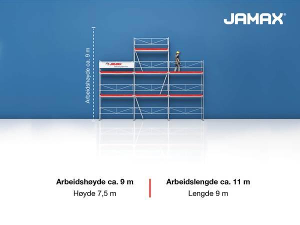 Bilde av Jamax Fasadestillas 55,5 m2