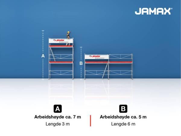 Bilde av Jamax stillas Huspakke 1 (21 m2)