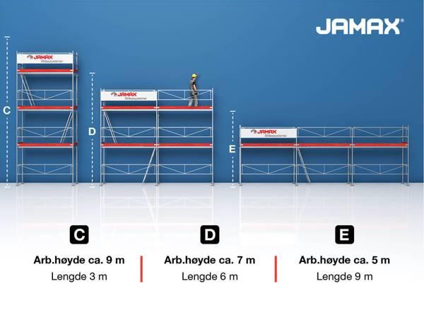Bilde av Jamax stillas Huspakke 2 (33 m2