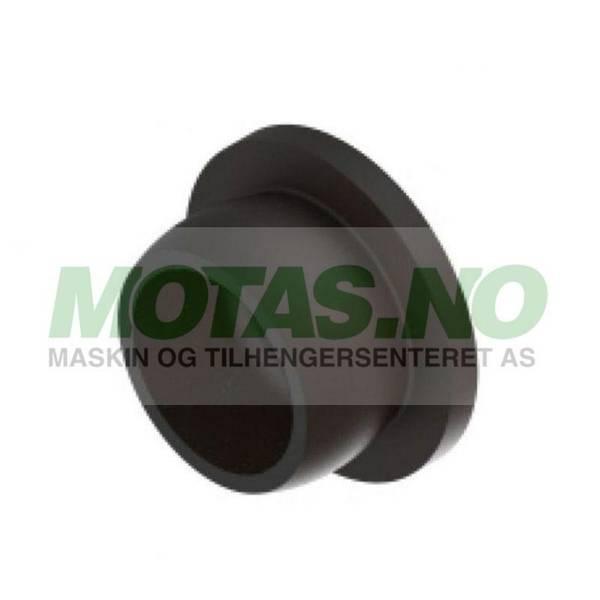 Bilde av Plastplugg Ø12mm svart, Knott