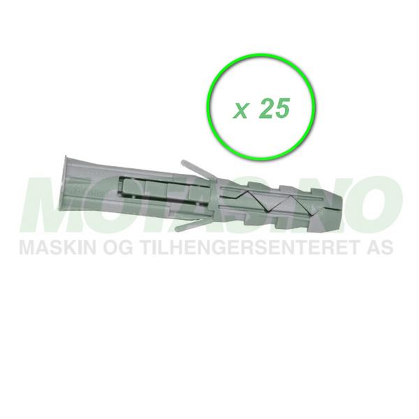 Bilde av Betongplugg Ø14 (25-pakk)