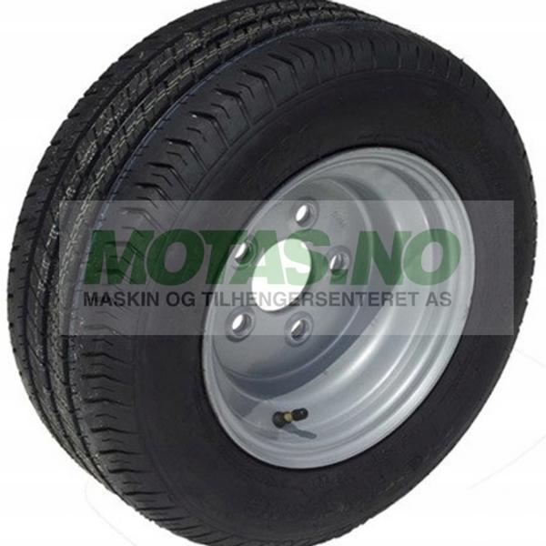 Bilde av Komplett hjul 195/55 R10C M+S, 5x112 stålfelg