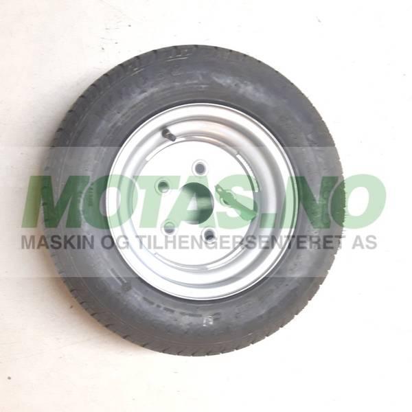 Bilde av Komplett hjul 195/55R10C med stålfelg