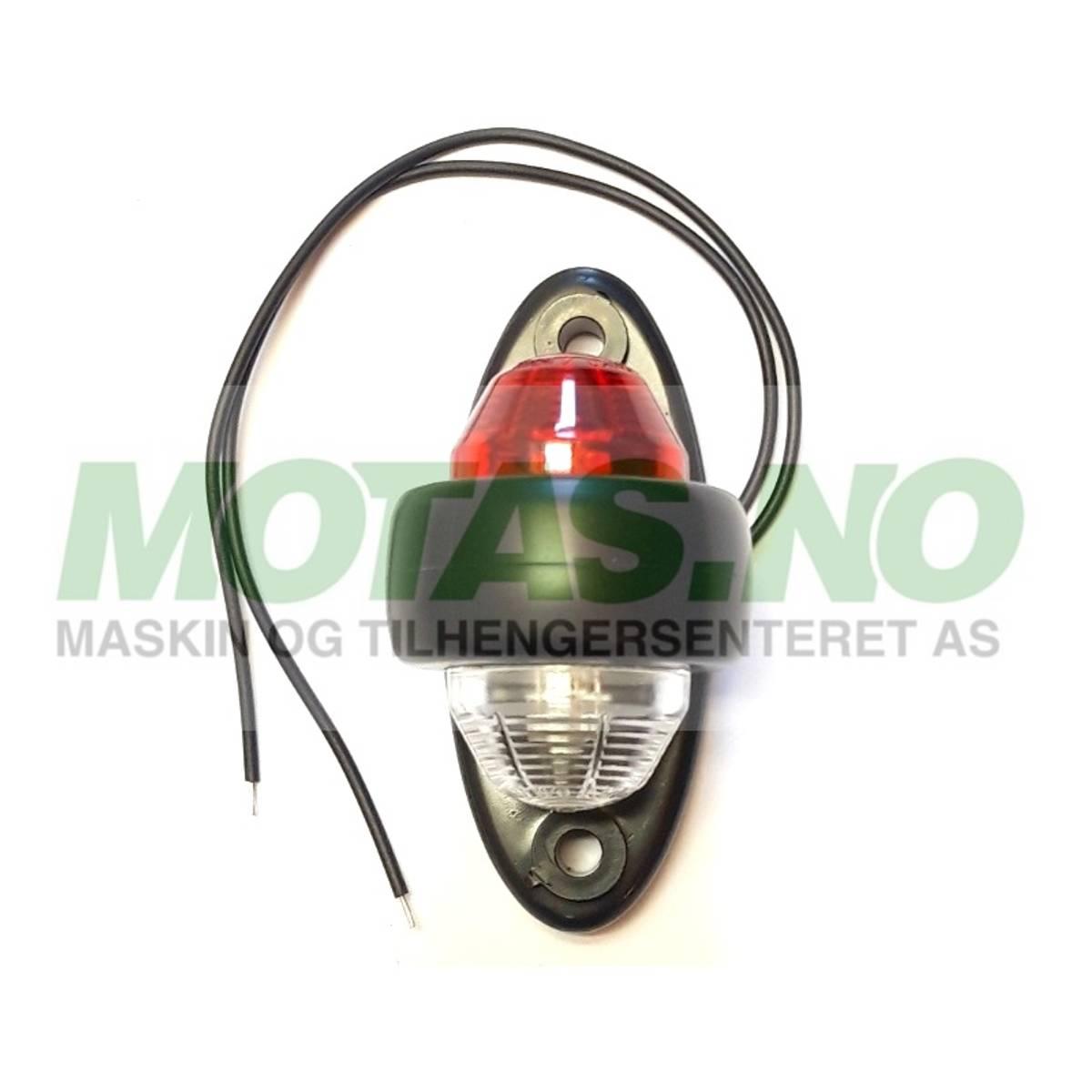 Markeringslys LED rød/hvit LD 465