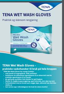 Bilde av Tena Wet Wash Glove