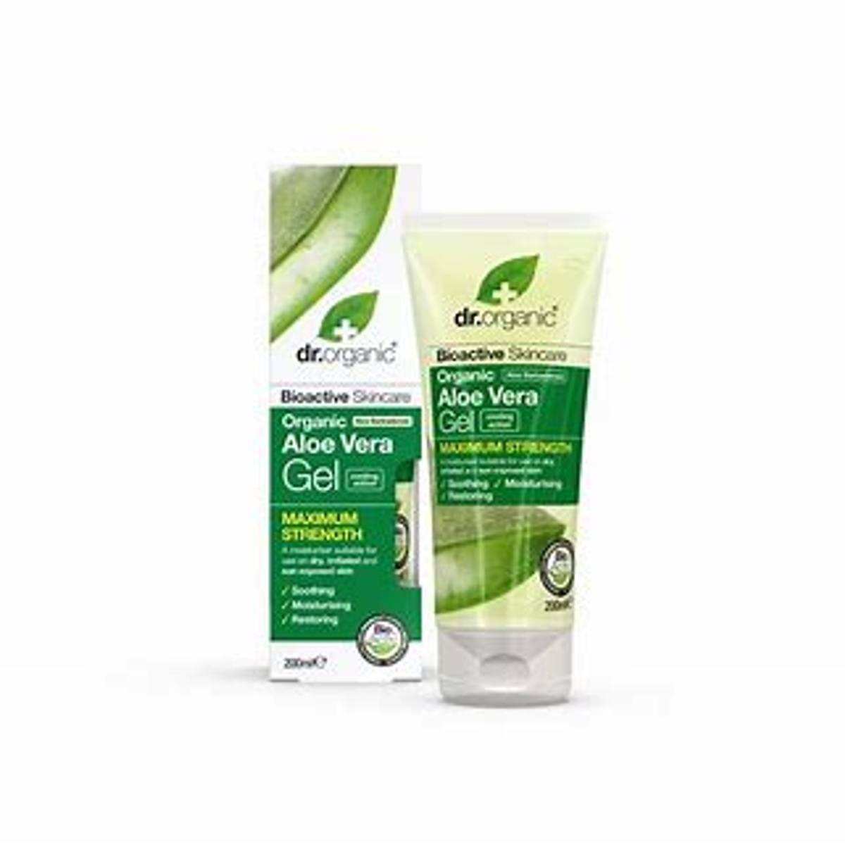 Dr.Organic Aloe vera gel - UTSOLGT