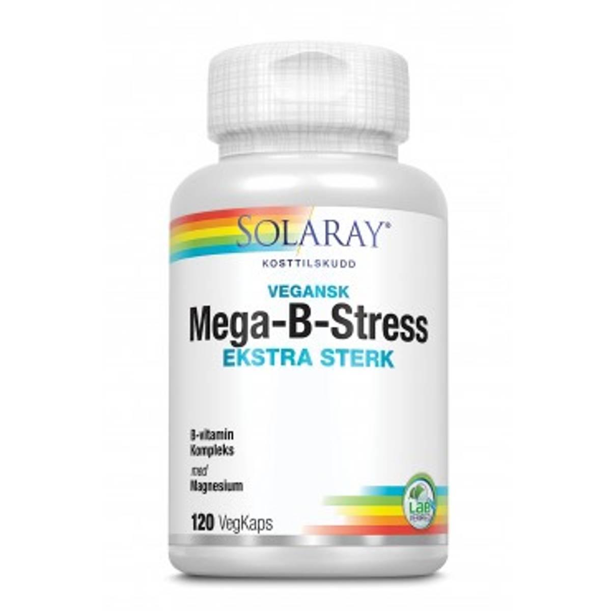 Solaray Mega B-stress Ekstra Sterk