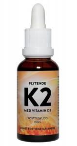 Flytende K2 med vitamin D3