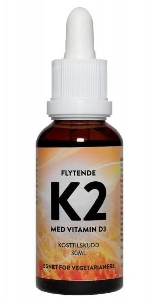 Bilde av Flytende K2 med vitamin D3