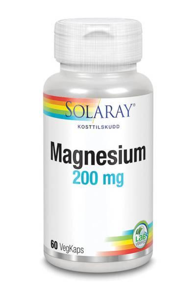 Bilde av Solaray Magnesium liten