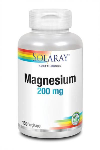 Bilde av Solaray Magnesium stor