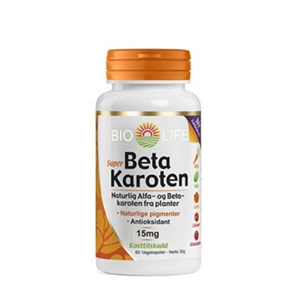 Bilde av Bio Life Betakaroten 15 mg