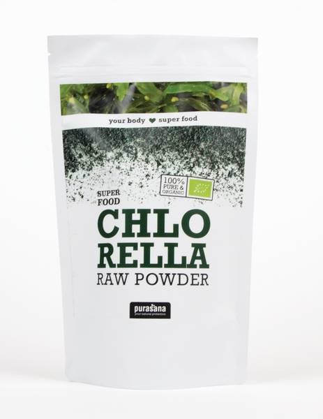 Purasana Chlorella 200 g pulver