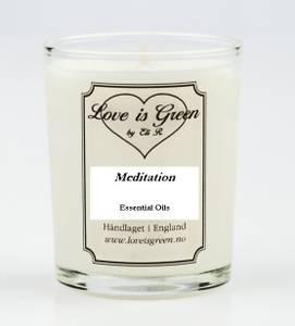 Bilde av Love is Green Duftlys Meditation