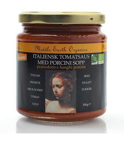 Bilde av Middle Earth Tomatsaus med steinsopp 300g