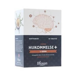 Bilde av Biosan Hukommelse+ L-serin 60 tabletter