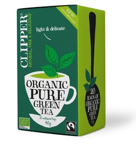 Bilde av Clipper Tea Green Tea Pure 20 poser