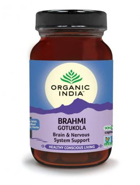 Organic India Brahmi 90 kapsler