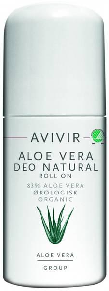 AVIVIR Aloe Vera Deodorant roll-on duftnøytral 50 ml