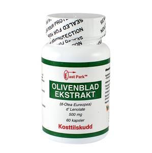 Bilde av East Park Olivenbladekstrakt liten boks 500 mg 60 kapsler